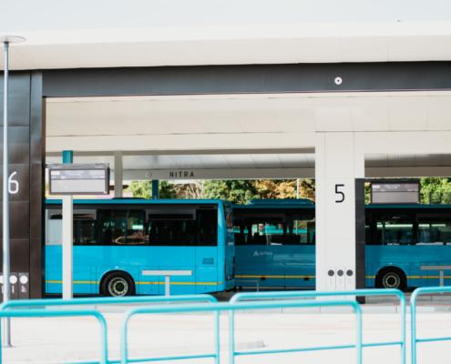 Autobusová stanica v Nitre